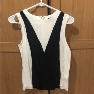 Topshop black and white top - Brand New w Tags